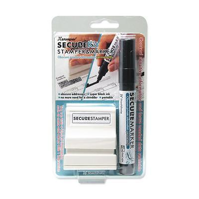 Shachihata Small Security Stamp Kit w/Marker 1/2