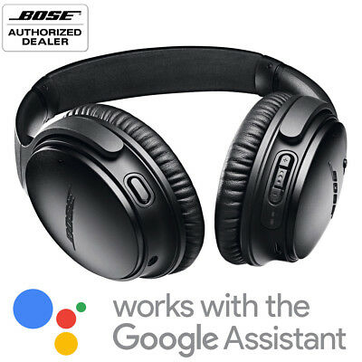 Bose QuietComfort 35 Noise Cancelling Wireless Headphones Series II - QC35 Black