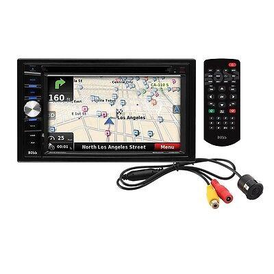 "BOSS Audio BVNV9384RC Double Din 6.2"" Touchscreen DVD Receiver, GPS, Rear Camera"