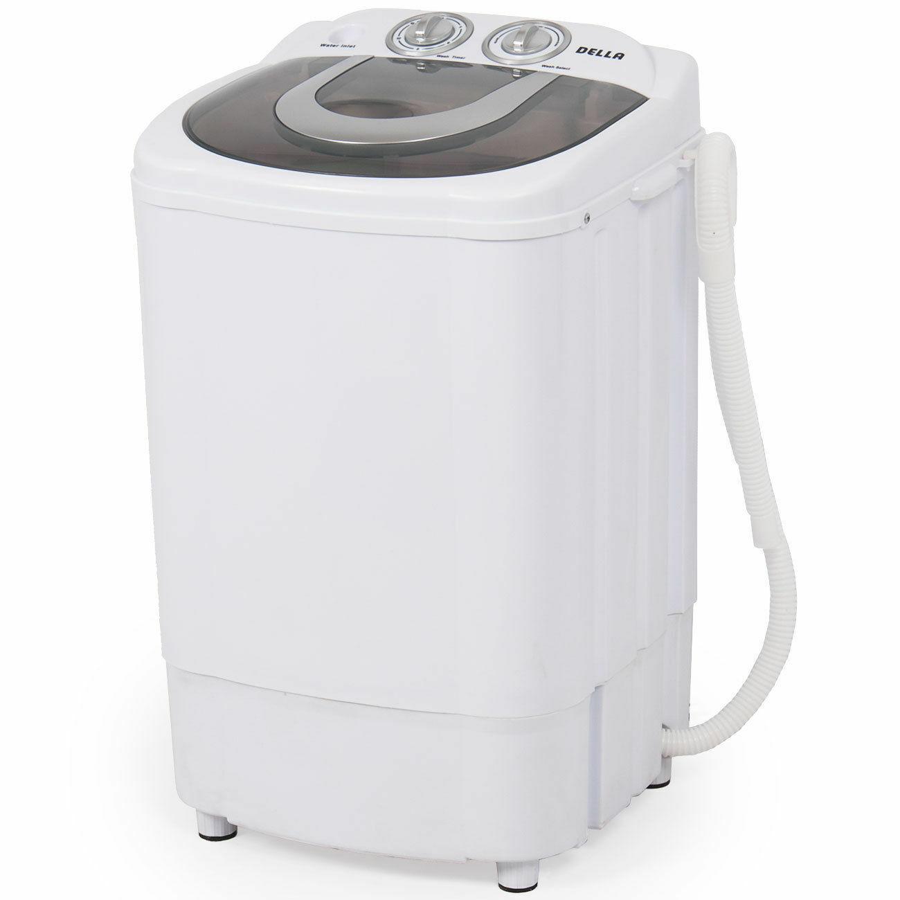 Mini Portable Washing Machine Spin Wash 8.8Lbs Capacity Comp
