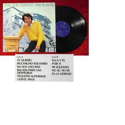 LP Jose Luis Perales: Nido de Aguilas (Hispavox S 90 375) Spanien 1981