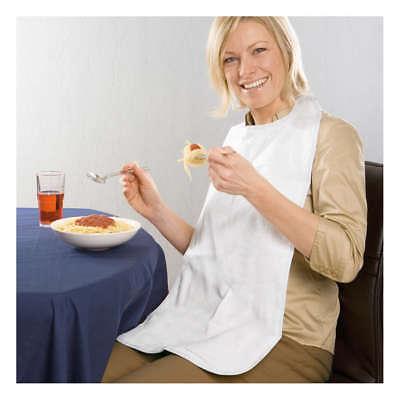 Speiselatz für Erwachsene, weiss