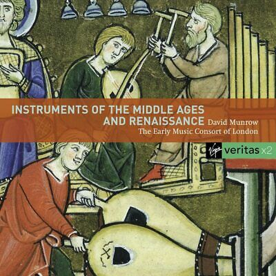 EARLY MUSIC CONSORT OF LONDON, INSTRUMENTS OF THE MIDDLE.., 61 T 2xCD FROM 2007