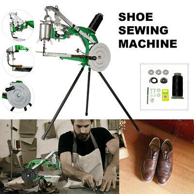 Manual Hand Cobbler Shoe Repair Sewing Machine Dual Leather Cotton Nylon Line