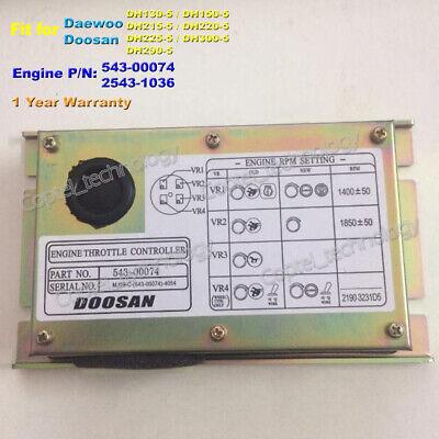 Controller Throttle For Dh130-5 Dh150-5 Dh215-5 Dh220-5 Dh225-5 Dh300-5 Dh290-5