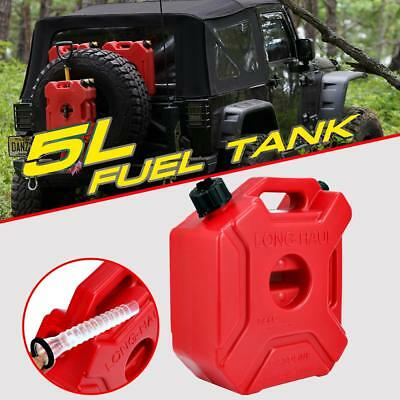 5l1.3 Gallon Gas Gasoline Fuel Tank Container Jerry Can Emergency Spare Offroad