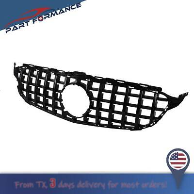 AMG GT R Style Front Grill Grille For Mercedes Benz C-Class W205 C350 2015-2018