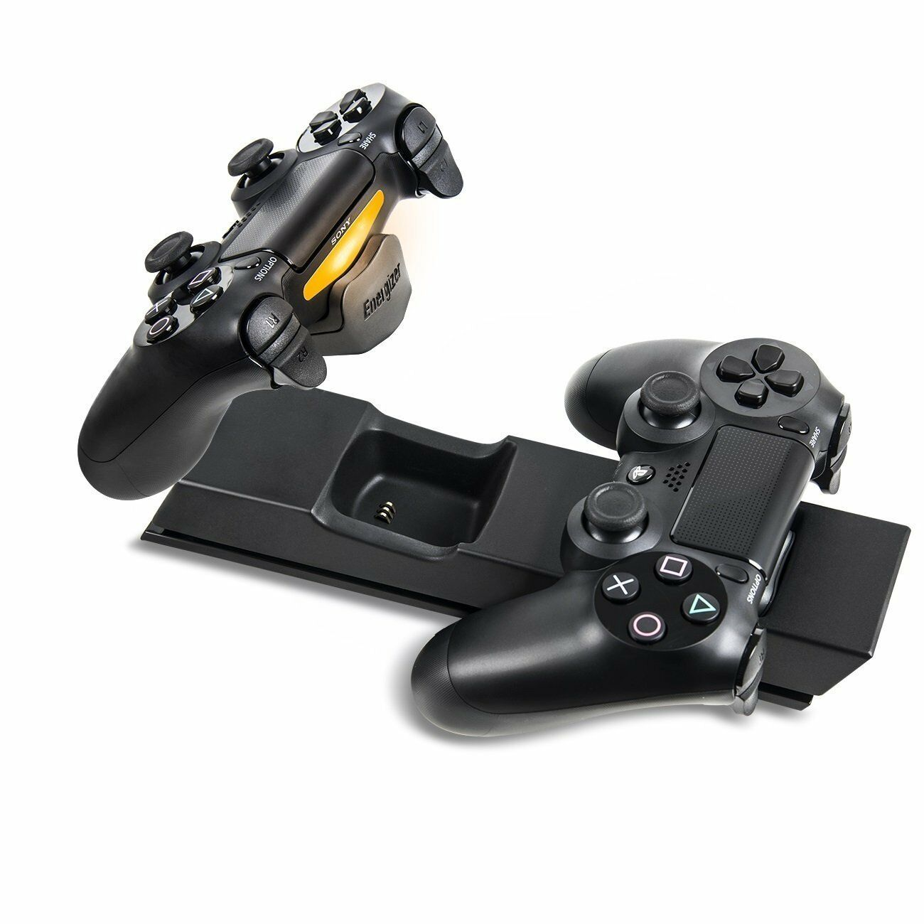 PDP Energizer 2x Extra Life Charge System Charger for DualShock 4 ...