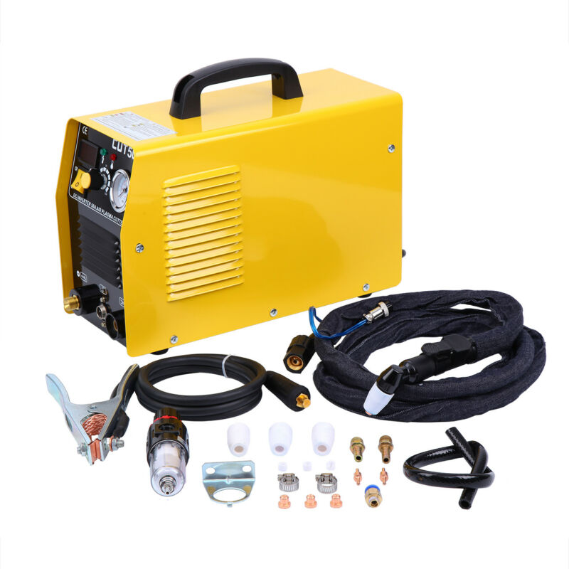 Electric LCD Display Inverter Air Plasma Cutter 50AMP Cutting Machine 110V