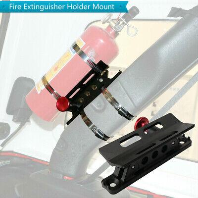 Fire Extinguisher Holder Mount Adjust Roll Bar Bottle Holder For Jeep Wranglers