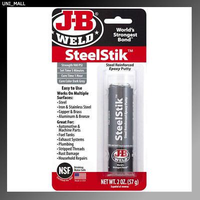 J-B Weld New 8267 SteelStik Steel Reinforced Epoxy Putty Stick - 2 - Jb Weld Putty