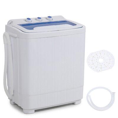 Pocket MINI Washer Machines Compact 8 - 9LB Washing Spin Dryer Laundry RV Dorm