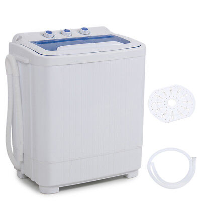 Portable Washing Machine Dryer Spin Small Compact Mini Elect