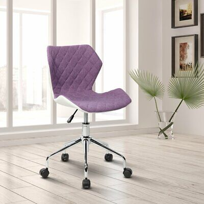 Techni Mobili Modern Height Adjustable Office Task Chair Beige Blue Or Purple