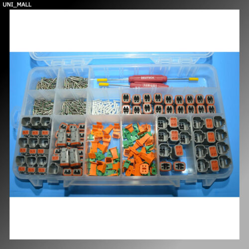 662 PCS DEUTSCH DT Connector Kit + Wedge Removal Tool (Made in USA)