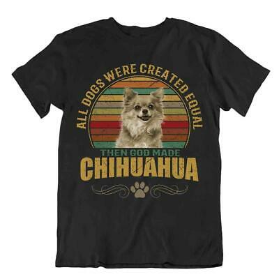 Chihuahua Dog T-Shirt Gift For Dogs Pet Lovers Cute Vintage Present Best