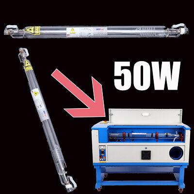 Professionelle Graviermaschine Cutter Maschine Wasserkühlung 50W CO2 Laser Rohr