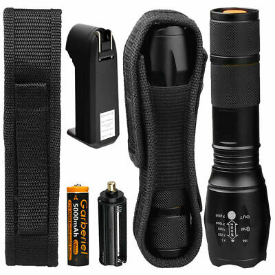 200000lm Genuine G700 LED Tactical Flashlight Military Grade Torch 18650 Light comprar usado  Enviando para Brazil