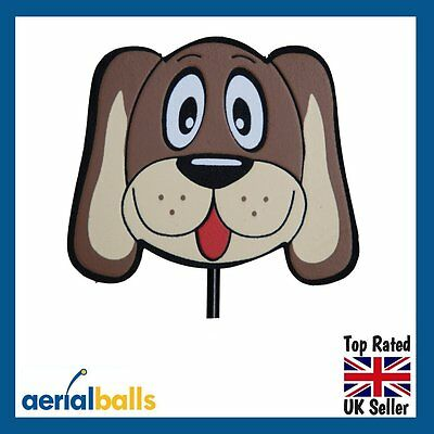 REDUCED...Hound Dog Car Aerial Ball Topper or use as Desk/Dashboard Wobbler!