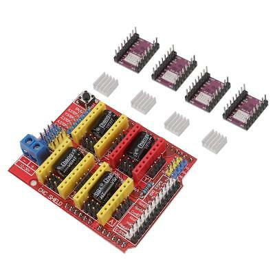 Cnc V3 Shield  4x Drv8825 Stepper Driver Fits For Arduino Compatible Board