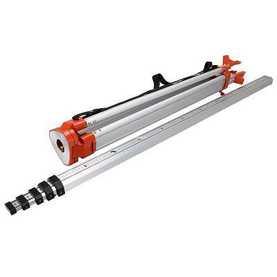 Lasermessgeräte 5M Länge Staff und 1.65M Aluminium Stativ Auto Ebenen, Transits