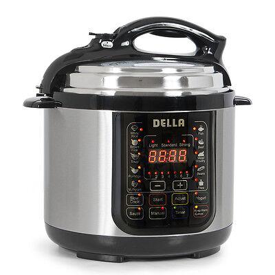 10 in 1 programmable pressure cooker 4 qt electric slow. Black Bedroom Furniture Sets. Home Design Ideas