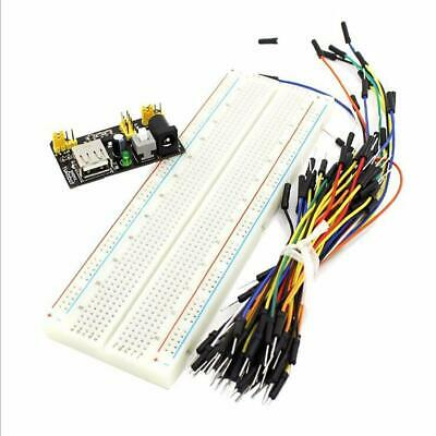 New Mb-102 Solderless Breadboard Protoboard 830 Tie Points 2 Buses Test Circui
