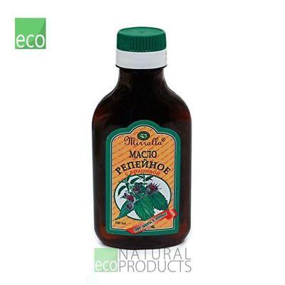 Mirrolla Natural Burdock Oil Nettle Hair Growth Anti Hair Loss 100ml
