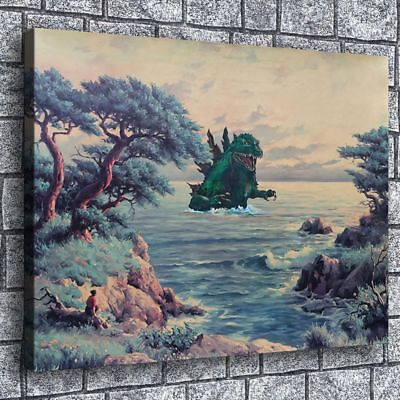 Creative Thrift Store Painting Hd Print Canvas Home Decor Wall Art Picture
