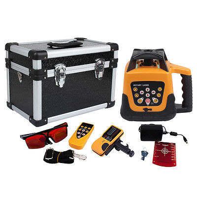 Used Outdoor Automatic Electronic Self-leveling Rotary Laser Level 500m W Case