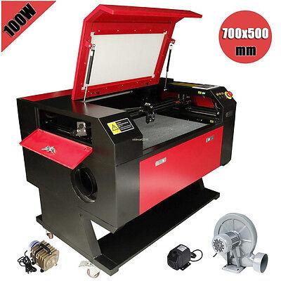 100w Co2 Usb Laser Cutter Engraver Engraving Machine W Water Pump Air Pump