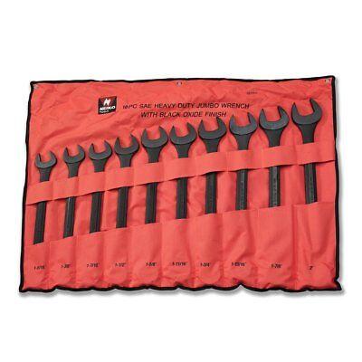 - Neiko 03129A Jumbo Combination Wrench Set, 10 Piece | Black Oxide Finish | SAE
