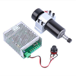 DIY Engraving CNC Spindle Motor 500W Air Cool Milling Motor ER11 Spindle Speed