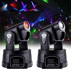 2x-15W-DMX-TESTA-MOBILE-RGB-LED-Faretto-effetto-luce-luci-PAR-DJ-scanner-festa