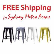 SALE - Xavier Pauchard Tolix Stool 65cm (Set of 4) Zetland Inner Sydney Preview