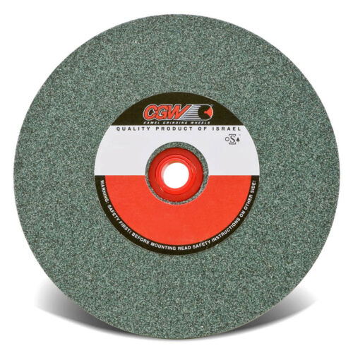 """EXCESS STOCK*****  CGW 35006 Bench Wheel, 80 Grit 6""""x1/2""""x1"""" Green Silicon"""