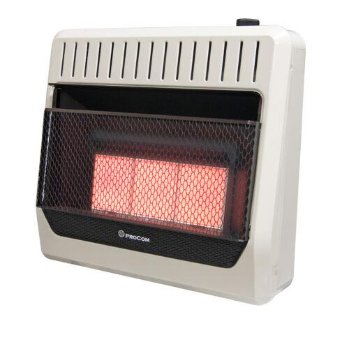 ProCom Dual Fuel Vent Free Infrared Gas Wall Heater, 30,000 BTU,Model# MG3TIR
