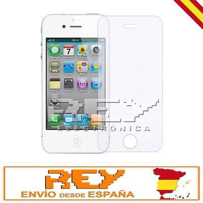 Protector Pantalla para IPHONE 4 / 4S / 4C Cristal Templado Vidrio...