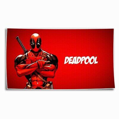 Forked hand Deadpool Wallpaper HD Canvas print Home Room Decor Picture Wall art - Dead Pool Wallpaper