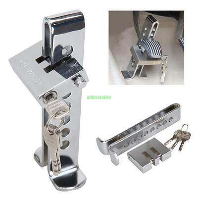 Brake Pedal Lock Security Car Auto Stainless Steel Clutch Lock Anti-theft - Lock Car Anti Theft Device
