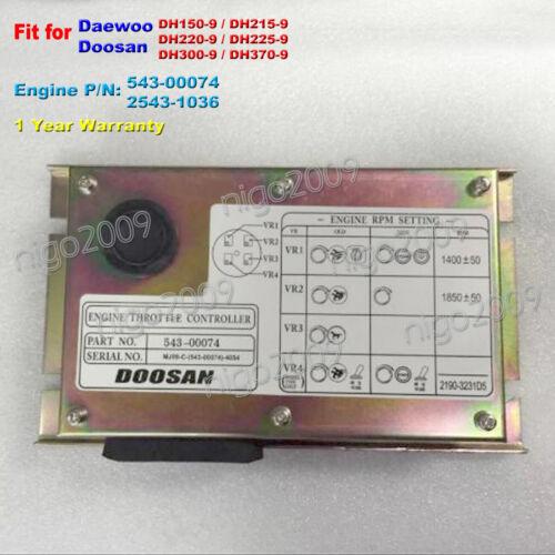 for DAEWOO DH150-9 DH215-9 DH220-9 DH225-9 DH300-9 DH370-9 Throttle Controller