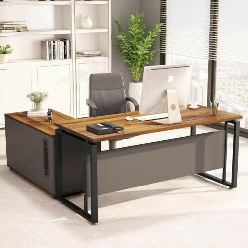 L Shaped Computer Desk Writing Table