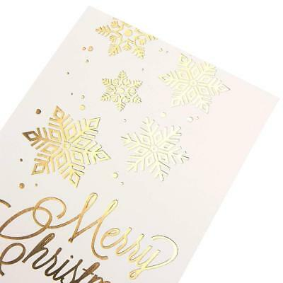 48Pack Merry Christmas Greeting Cards Bulk Box Set - Winter Holiday Xmas Cards
