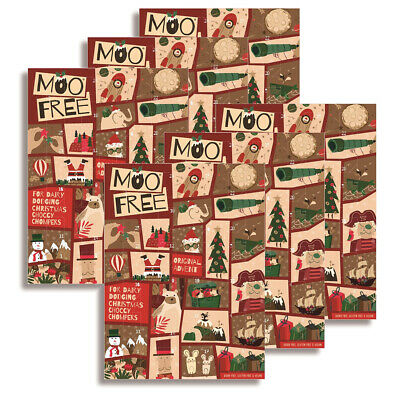 Moo Free Kids Milk Alternative Advent Calendar 70g (Pack of 6) - Dairy Free