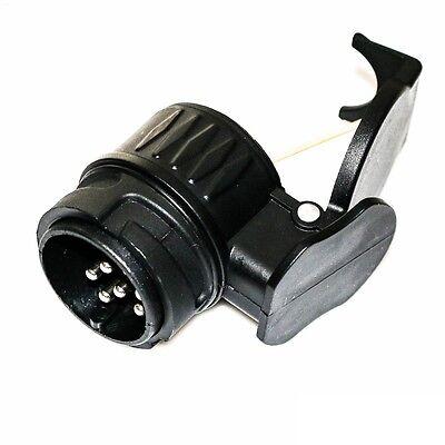 Adapterstück 13 auf 7 polig Kurzadapter Anhängeradapter Anhänger Stecker