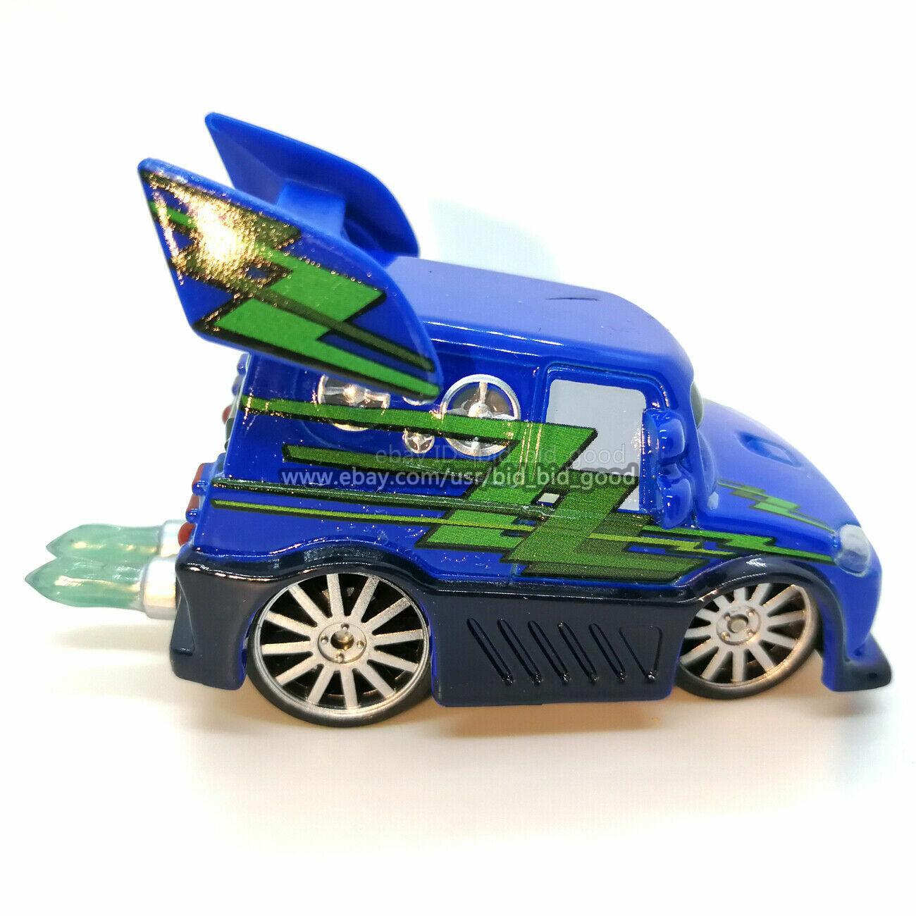 Mattel Cars 4pcs Set Disney Pixar Toy Car Boost DJ Wingo Snot Rod Diecast Loose