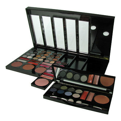W7 Makeup Palette Eyeshadow Beauty on the Go Colours Detachable 55pc