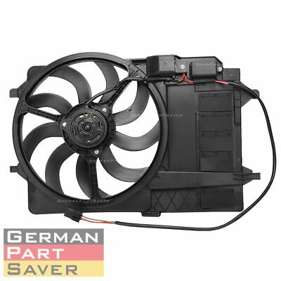 Radiator Condensor Cooling Fan Assembly fit Mini Cooper 1.6L L4 4CYL 17117541092