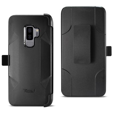- For Samsung Galaxy S9 / S9 Plus Heavy Duty Holster Combo Case with Belt Clip