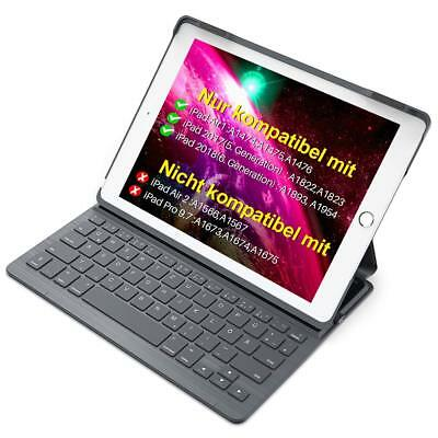 Inateck Ultra Slim Bluetooth Tastatur Hülle für iPad 2018 / 2017 und iPad Air 1